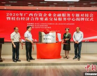 广西举办台资企业金融服务专题对接会 缓解台企融资难